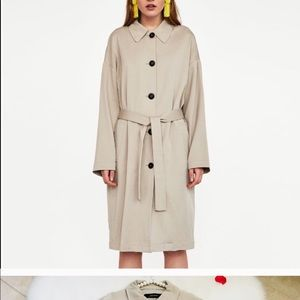 Zara light weight trenchcoat